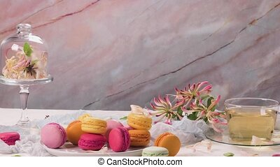 doux, francais, macarons