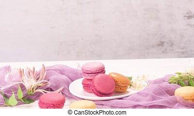 doux, macarons, francais