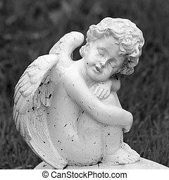 doux, peu,  image, ange