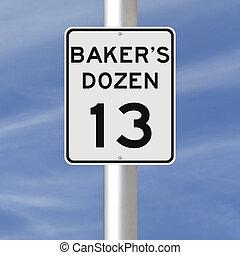douzaine, boulanger
