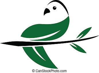 Dove leaf logo