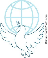 Dove of Peace - International Day of Peace