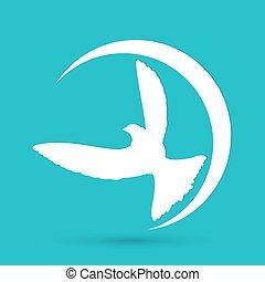 Dove of Peace Vector