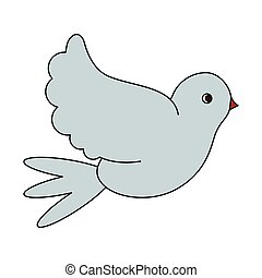 Dove peace bird