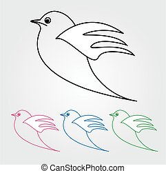 dove-, simbolo, pace