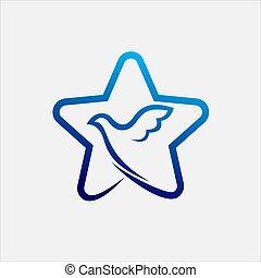 Dove Star Logo