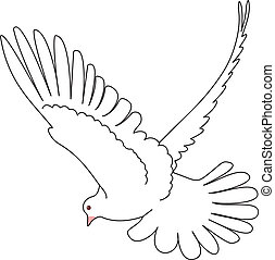 Dove vector - Bird vector. To see similar, please VISIT MY ...