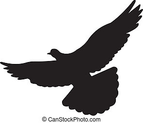 Dove vector - Bird vector. To see similar, please VISIT MY...