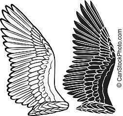 Dove wings