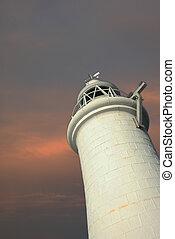Dover (UK), Dec 03: lighthouse in Dover.