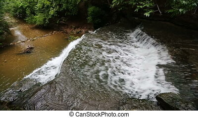 Down Dublin Road Falls Loop - Whitewater plunges over the...