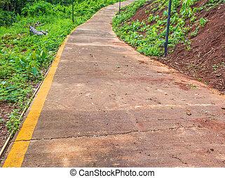 down hill way