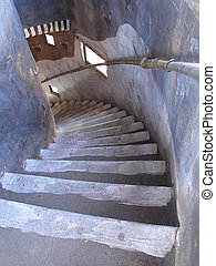 Down Stairwell