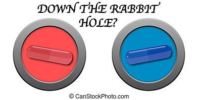 Down The Rabbit Hole Pill Icons