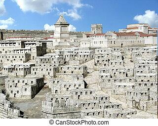 Down town. Ancient Jerusalem