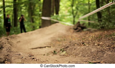 Downhill MTB competitions