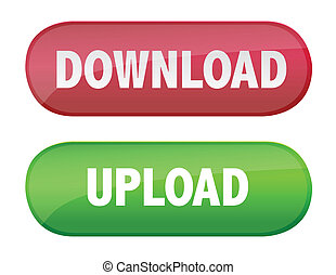 Download and upload buttons - Upload and download buttons...