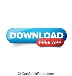 Download App button vector