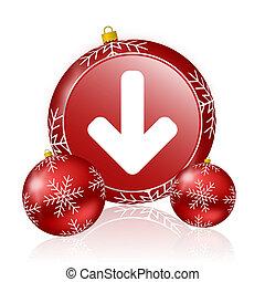 download arrow christmas icon