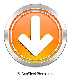 download arrow icon, arrow sign