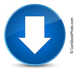 Download arrow icon elegant blue round button