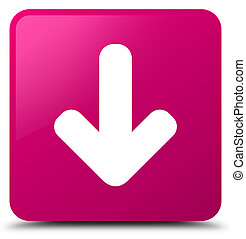 Download arrow icon pink square button