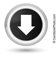 Download arrow icon prime black round button