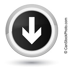 Download arrow icon prime black round button