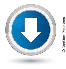 Download arrow icon prime blue round button
