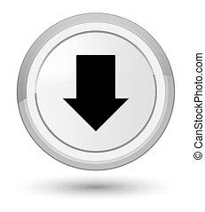 Download arrow icon prime white round button