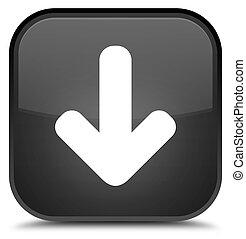 Download arrow icon special black square button