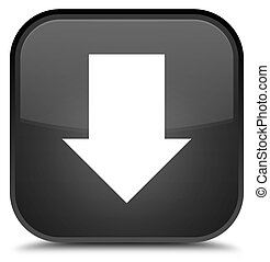 Download arrow icon special black square button