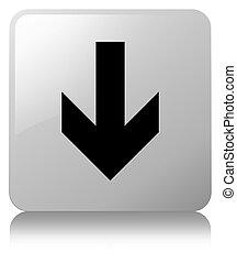 Download arrow icon white square button