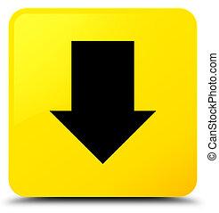 Download arrow icon yellow square button