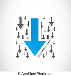 Download arrow paper symbol