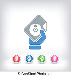 Download button icon