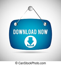 download button now
