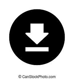 Download Button Web Icon - msidiqf