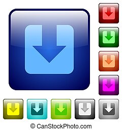 Download color square buttons