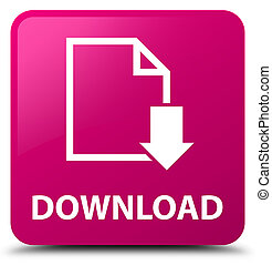 Download (document icon) pink square button