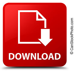 Download (document icon) red square button