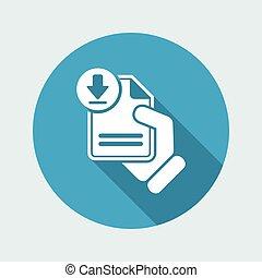 Download document link