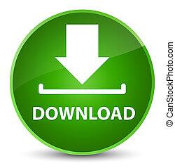 Download elegant green round button