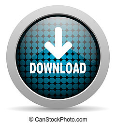download glossy icon