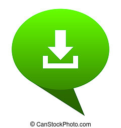 download green bubble icon