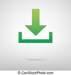 Download green icon