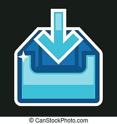 Download Icon Box Vector