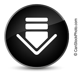 Download icon elegant black round button
