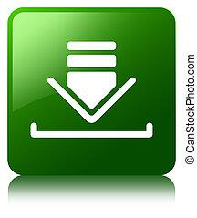 Download icon green square button