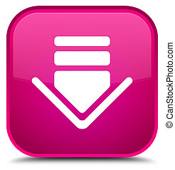 Download icon special pink square button